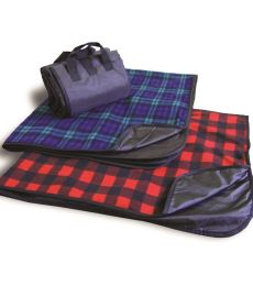 Liberty Bags 8702 Alpine Fleece Plaid Picnic Blanket