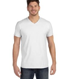 498V Hanes 4.5 oz., 100% Ringspun Cotton nano-T® V-Neck T-Shirt