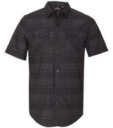 Burnside 9202 Plaid Short Sleeve Shirt