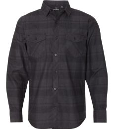 Burnside 8202 Long Sleeve Plaid Shirt
