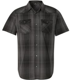 Burnside 9206 Short Sleeve Western Shirt