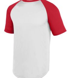 Augusta Sportswear 1508 Wicking Short Sleeve Baseball Jersey