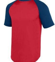 Augusta Sportswear 1509 Youth Wicking Short Sleeve Baseball Jersey