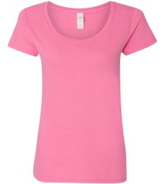 Gildan 64550L Softstyle Women's Deep Scoopneck T-Shirt