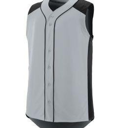 Augusta Sportswear 1663 Youth Sleeveless Slugger Jersey