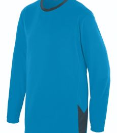 Augusta Sportswear 1717 Block Out Long Sleeve Jersey