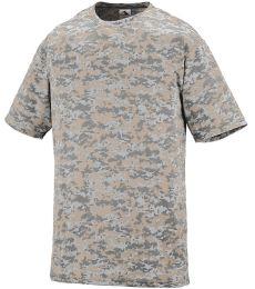 Augusta Sportswear 1799 Youth Digi Camo Wicking T-Shirt