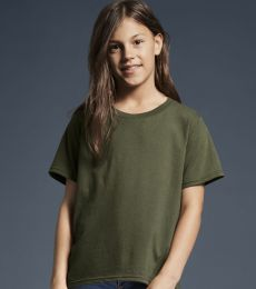990B Anvil Combed Ring Spun Cotton Fashion Youth T-Shirt