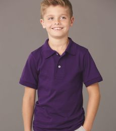 437Y Jerzees Youth 50/50 Jersey Polo with SpotShield®