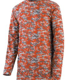 Augusta Sportswear 2789 Youth Digi Camo Wicking Long Sleeve T-Shirt