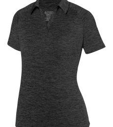 Augusta Sportswear 5409 Women s Intensify Black Heather Sport Shirt fd1b45a245f70