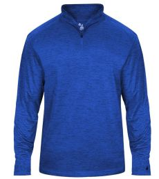 Badger Sportswear 2174 Youth Tonal Blend 1/4 Zip