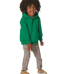 3326 Rabbit Skins Toddler Hooded Sweatshirt with Pockets