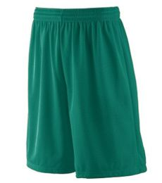 848 Augusta Sportswear 100% Polyester Tricot Mesh Shorts