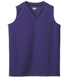Augusta Sportswear 526 Girls' Wicking Mesh Sleeveless Jersey