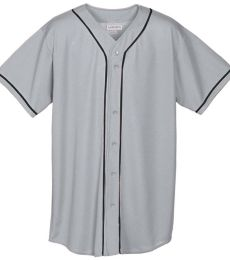 Augusta Sportswear 594 Youth Wicking Mesh Button Front Jersey