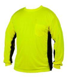 ML Kishigo 9202-9203 Premium Black Series® Long Sleeve Hi-Viz T-Shirt