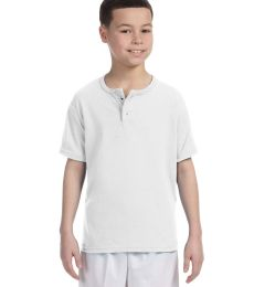 Augusta Sportswear 581 Youth Two-Button Baseball Jersey