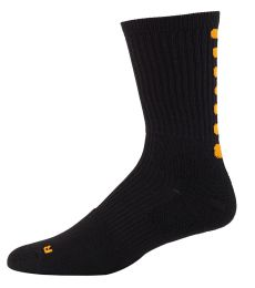 Augusta Sportswear 6090 Youth Color Block Crew Sock