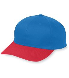 Augusta Sportswear 6206 Youth Six-Panel Cotton Twill Low-Profile Cap