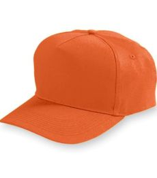 Augusta Sportswear 6207 Youth Five-Panel Cotton Twill Cap