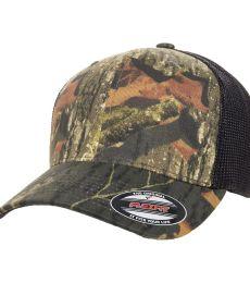 Yupoong-Flex Fit 6911 Mossy Oak Stretch Mesh Cap