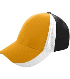 Augusta Sportswear 6247 Sport Flex Three-Color Athletic Mesh Cap