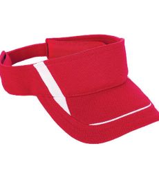 Augusta Sportswear 6276 Youth Adjustable Wicking Mesh Edge Visor