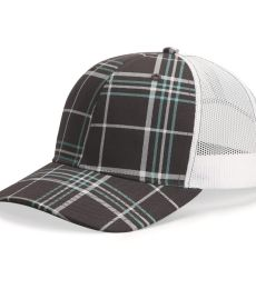 Richardson Hats 112P Patterned Snapback Trucker Cap