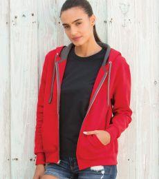 50 LSF73R Women's Sofspun® Full-Zip Hooded Sweatshirt
