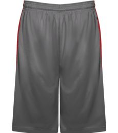 Badger Sportswear 4168 Tonal Blend Panel Shorts