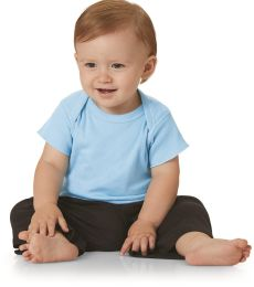 Rabbit Skins 3400 Baby T-shirt w/ Lap Shoulder