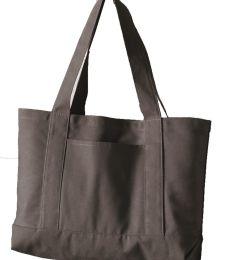 Liberty Bags 8870 Pigment Dyed Premium 12 Ounce Canvas Gusseted Tote