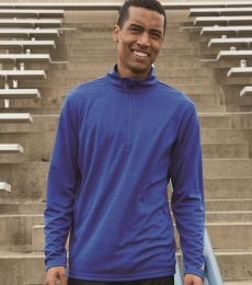 Russel Athletic QZ7EAM Striated Quarter-Zip Pullover