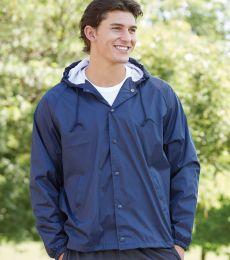3102 Augusta Sportswear Hooded Coaches Jacket
