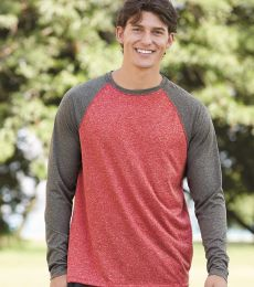 Augusta Sportswear 2815 Kinergy Raglan Long Sleeve Tee