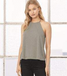 500 8809 Women's Flowy High Neck Tank