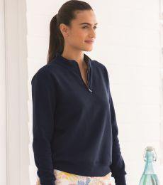 50 LSF95R Women's SofSpun® Quarter-Zip Sweatshirt