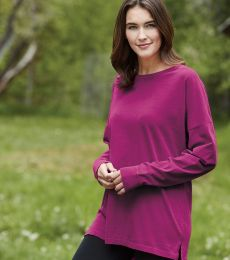 Comfort Colors 6054 Ringspun Cotton Drop Shoulder Long Sleeve Tee