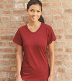 Badger Sportswear 4962 Triblend Performance Women's V-Neck T-Shirt
