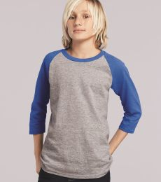 Gildan 5700B Heavy Cotton Youth Raglan Tee
