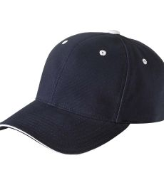 6262 Yupoong Brushed Cotton Twill Sandwich Cap