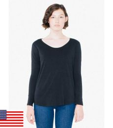American Apparel RSA6304 Ultra Wash Long-Sleeve T-Shirt