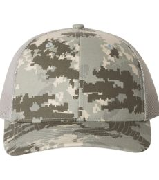 Richardson Hats 112P Patterned Snapback Trucker Cap