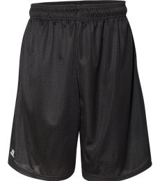 """Russel Athletic 651AFM 9"""" Polyester Tricot Mesh Pocketed Shorts"""