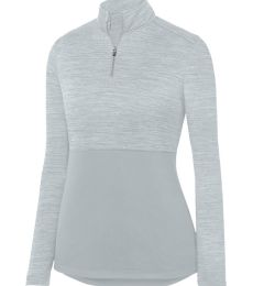 Augusta Sportswear 2909 Women's Shadow Tonal Heather Quarter-Zip Pullover