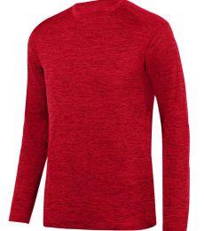 Augusta Sportswear 2953 Intensify Black Heather Long Sleeve Tee