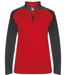 Badger Sportswear 4008 Women's Ultimate SoftLock™ Sport Quarter-Zip