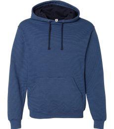 50 SF77R Sofspun® Microstripe Hooded Pullover Sweatshirt