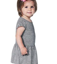 Rabbit Skins 5320 Infant Baby Rib Dress